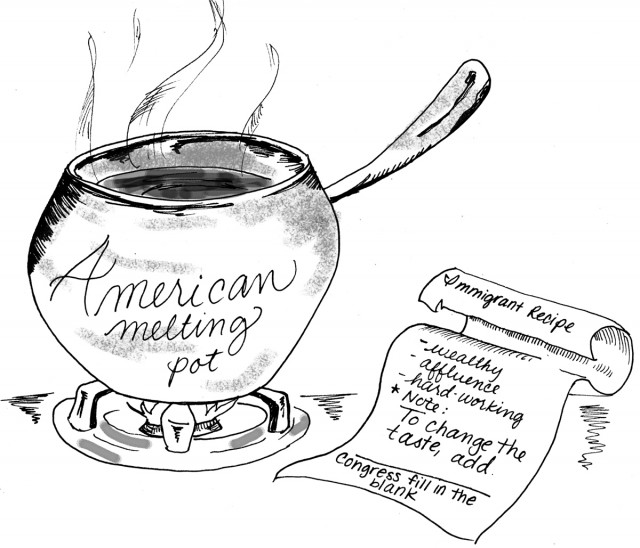 """an overview of the melting pot of the world the united states A melting pot is """"a place where races, theories, etc, are mixed"""" (the oxford dictionary) many immigrants come to the united states for the same basic reason: a better way of life these same immigrants envision their dreams of success, freedom and happiness coming true."""