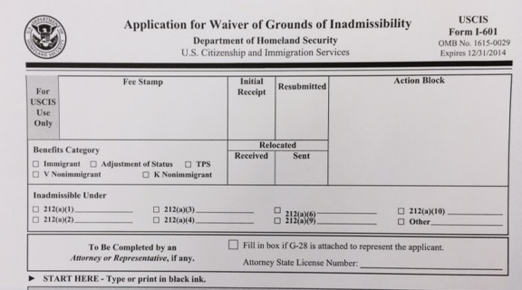 212(i) waiver | Ohio Immigration lawyer